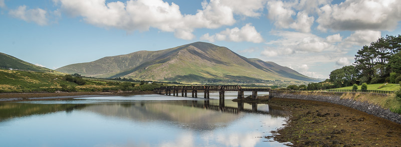 The railway bridge at Cahirciveen