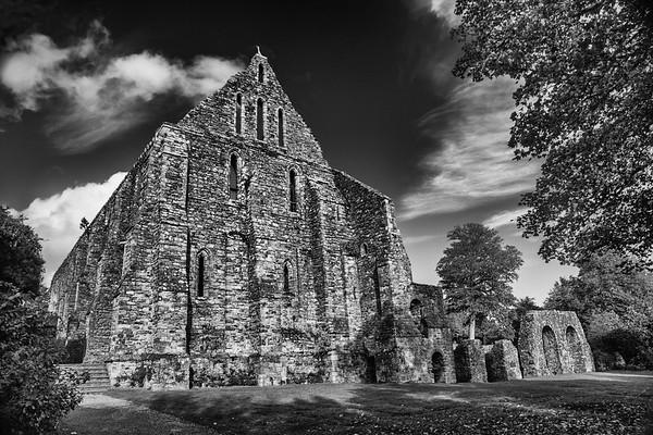 Abbey ruins, Battle