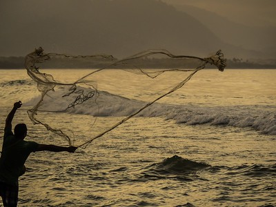 Casting the Net (Seascapes 1)