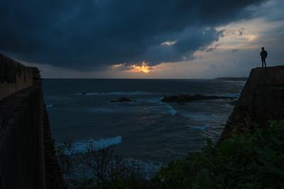 Galle sunset