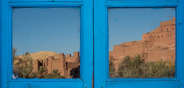 Reflection on Ait benhaddou