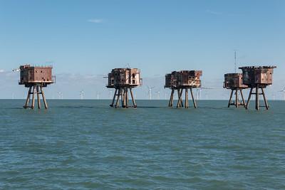 Seascape - Thames Forts