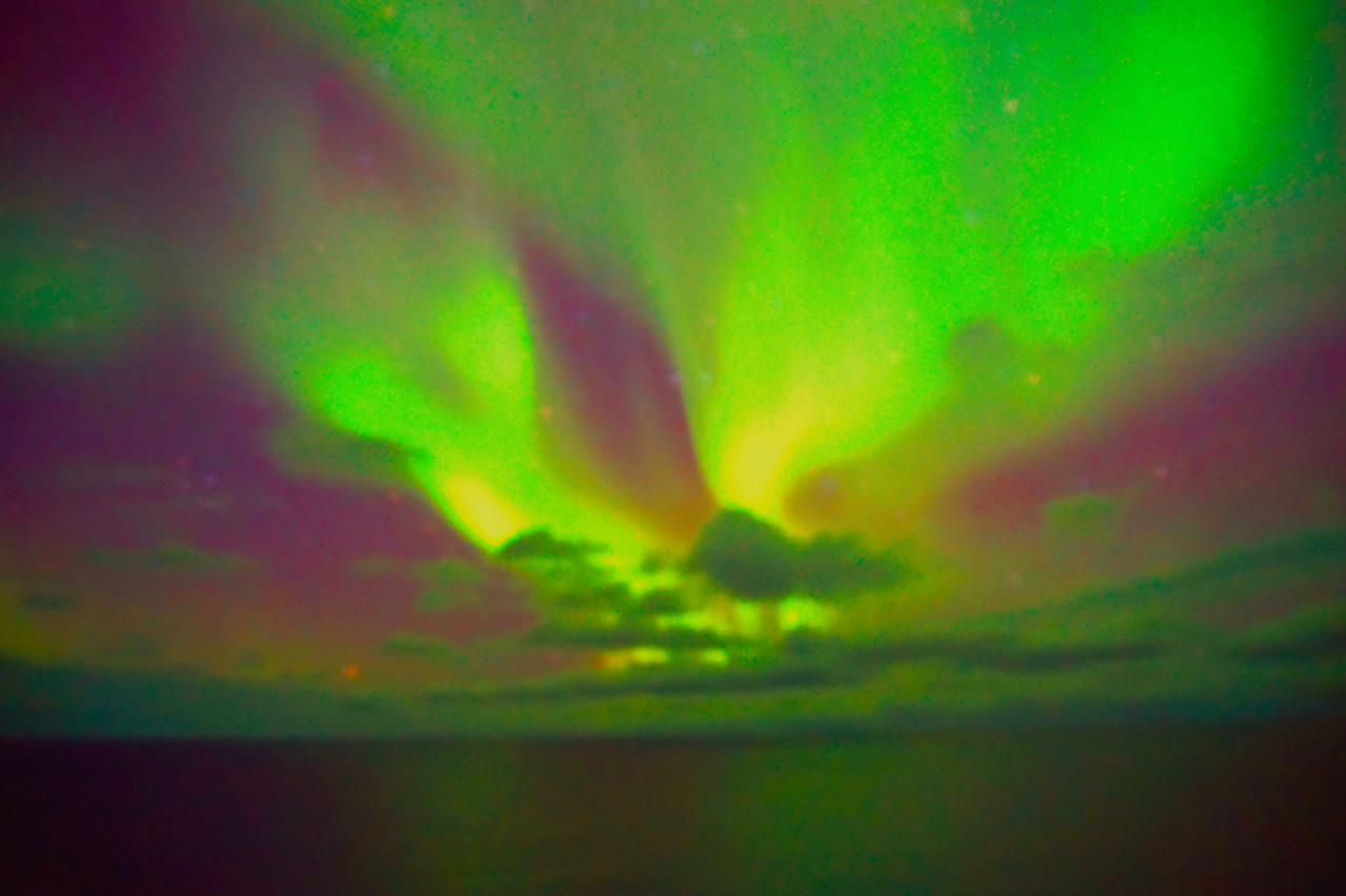 Northern Lights at Tromso Norway