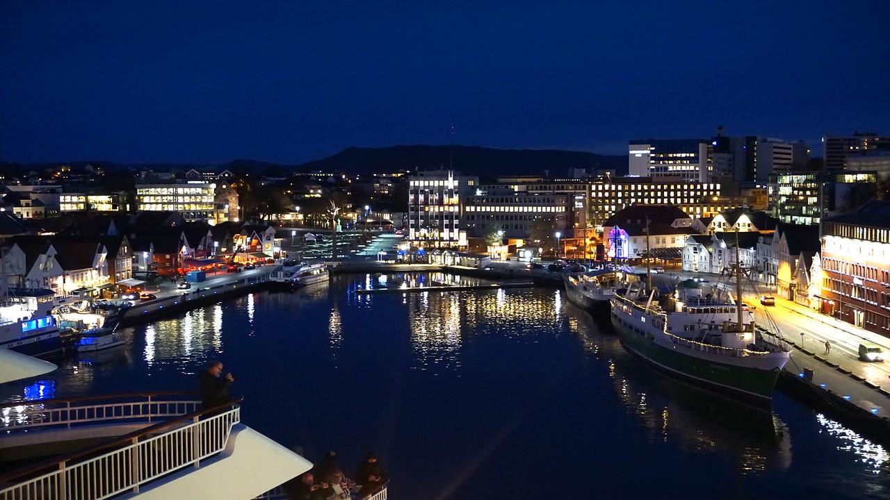 Leaving Stavanger Norway