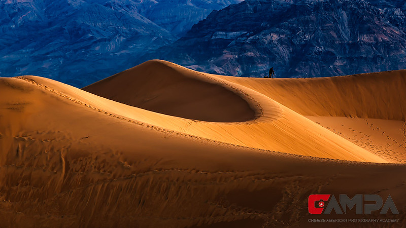 《Mesquite Sand Dunes》  摄影:肖汉平