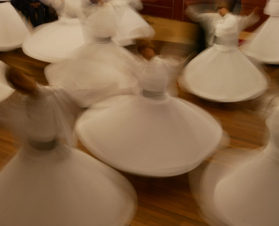 Dervishes whirling