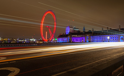London Eye Traffic Trails