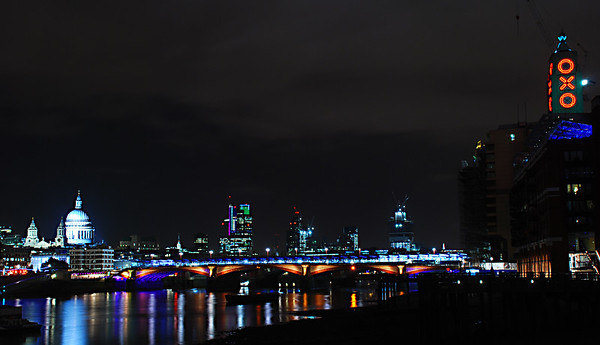 Oxo tower by night