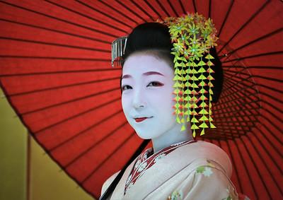 Apprentice geisha