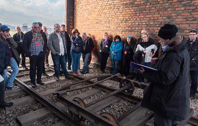 A prayer at Auschwitz