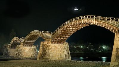Kintai Bridge, Okayama, Japan