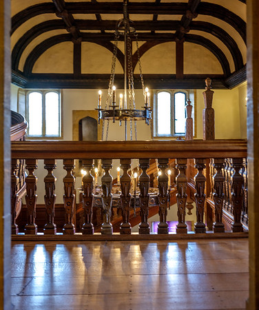 Barrington Court stairwell