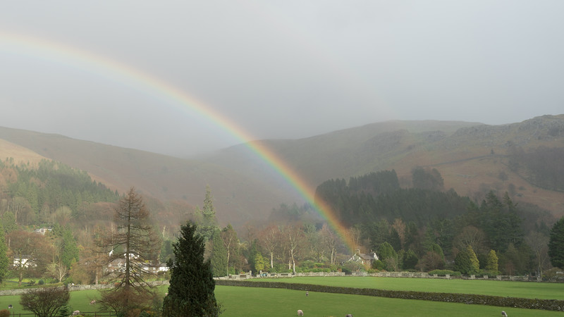 Rainbows in Grasmere