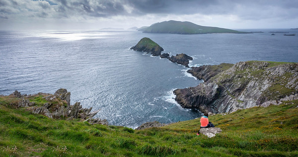 View from Sleah Head Co. Kerry Ireland