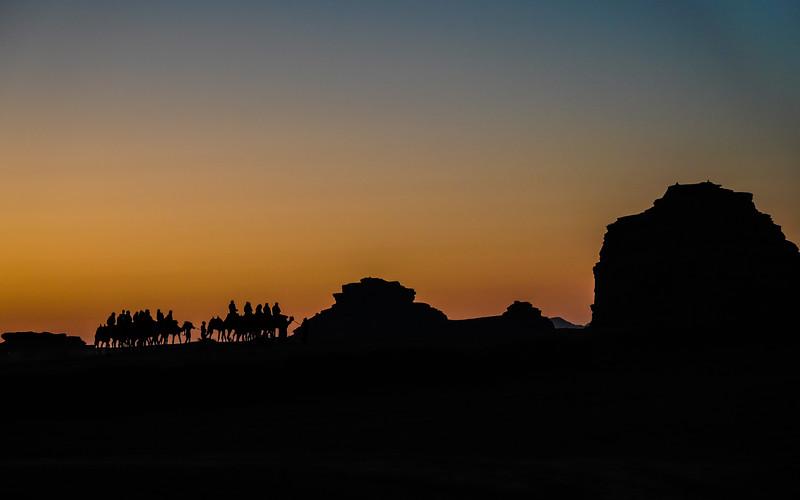 Caravanserai in the Wadi Rum
