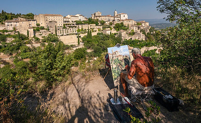 Landscape Painter Gordes