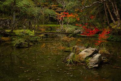 Saihoji Lake, Kyoto