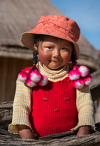 Lake Titicaca child
