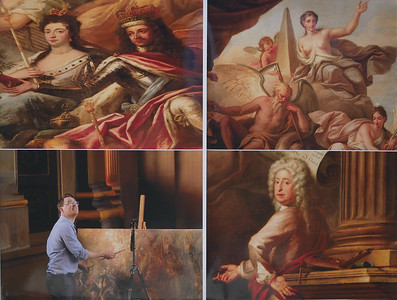 18_Collage of Greenwich Painted Ceiling_Michael Crowley