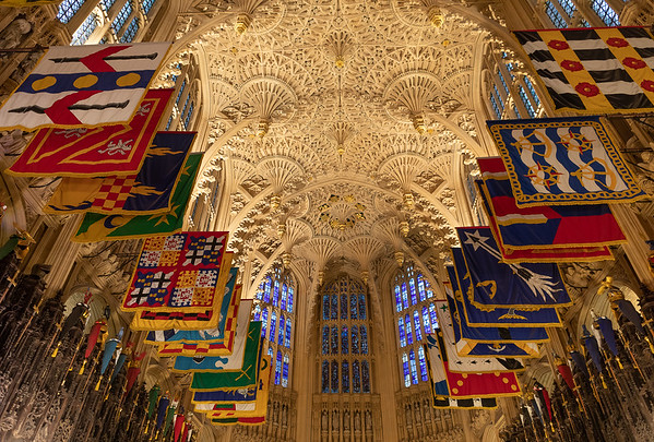 Looking Up in Westminster Abbey