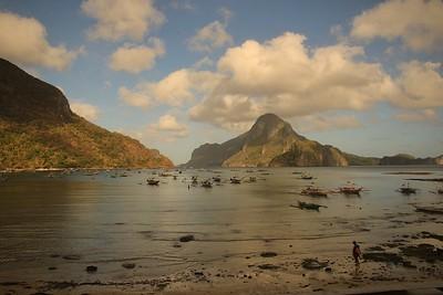 18_Sunrise at El Nido Harbour_Jane Lawson