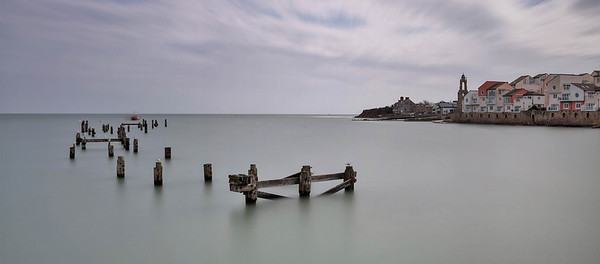 The old pier, Swanage