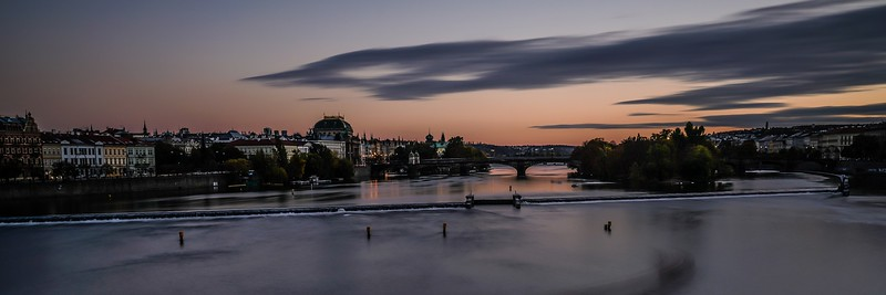 View from Charles V Bridge, Prague - Kath Pieri