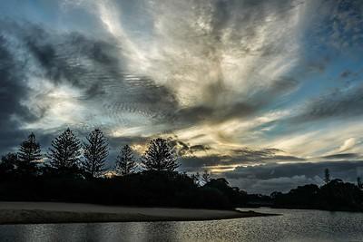 Mackerel Sky Moffat Bay