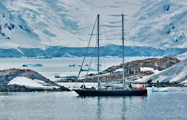 Sailing in the Antarctic