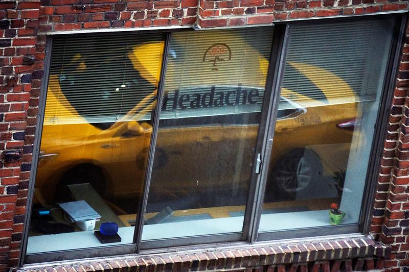 Reflections Traffic Headaches