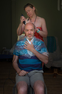 17_Lockdown haircut_Ian Rawlinson