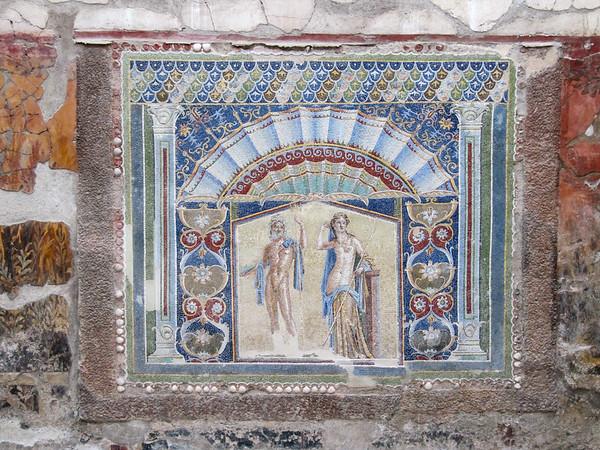 Pompei mosaic