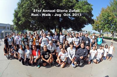 21st Annual Gloria Zufall Fun Run 2013