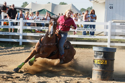 4H Barrel racing at Burton Fair