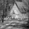 Church in the Woods<br /> By: Wilfred Smith<br /> Catagory:  Small Black & White<br /> 1st Place 2008 Annual Competition