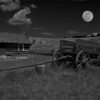 Title: Colorado Moon<br /> Category: Black & White<br /> Maker: Bill Carroll<br /> First Honorable Mention<br />  2008 Annual Competition
