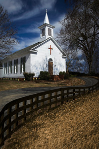 Presbyterian Church Springville Alabama By Wilfred Smith 2nd Place Large Color