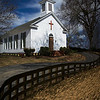 Presbyterian Church Springville Alabama<br /> By Wilfred Smith<br /> 2nd Place<br /> Large Color