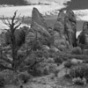 """Arches National Park""<br /> By Eric Sorensen<br /> 1st Honorable Mention<br /> Monochrome"