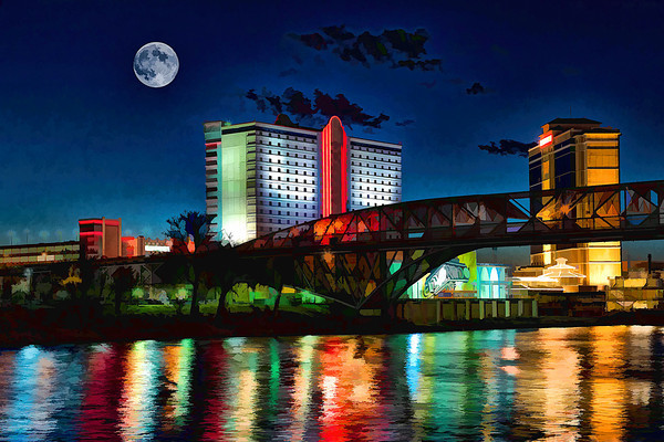 Altered Reality,First Place  - Harvey Jelks - Moon Over Shreveport