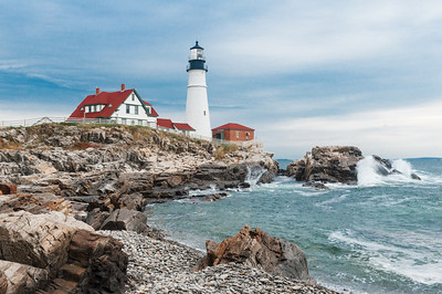 Landscape/Cityscapes/Travel, Third Place - Jim Lawrence - Portland Head Light