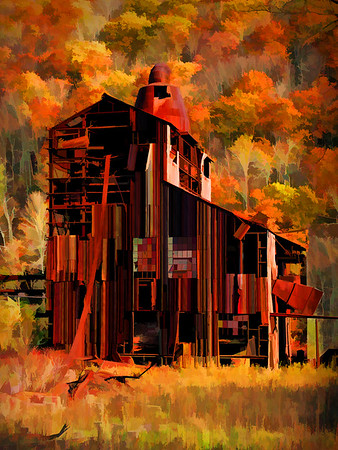 ALTERED REALITY: THIRD PLACE: IRON MILL: by Dwayne Anders: 16: