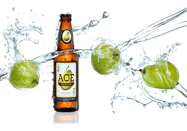MACRO/CLOSE UP: SECOND PLACE: Ace Cider Splash: by Brian Buckner: 20: