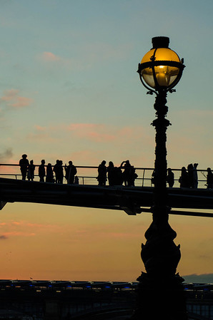 June Hughes - Millennium sunset