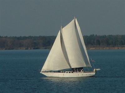 Prom Queen, under sail