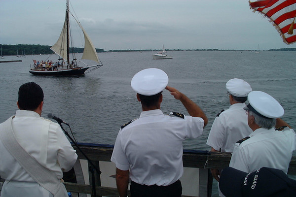 Blessing of the fleet. Bay Day June 3, 2007, Oyster Bay, New York.