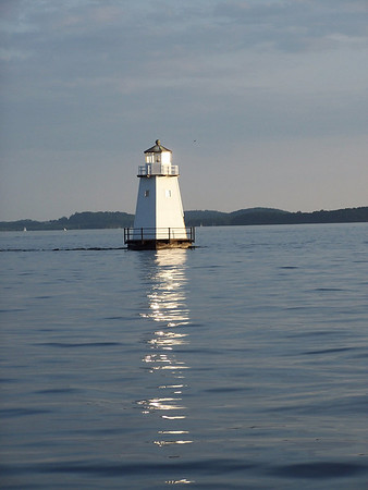North Light in Burlington Harbor, Lake Champlain, Vermont