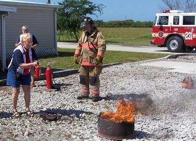 Fire extinquisher seminar