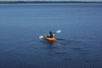Kayak paradise on Missisquoi Bay, Vermont
