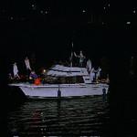 Lighted Boat Parade at St. Albans, W.Va., River Fest
